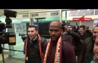 Yeni transfer Marcao İstanbul'da!
