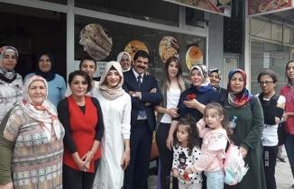 Yörükselim Mahallesi Muhtar Adayı Neşnat'a kadın seçmenlerden tam destek