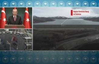 Cumhurbaşkanı Erdoğan'dan 'Yusufeli Barajı' paylaşımı